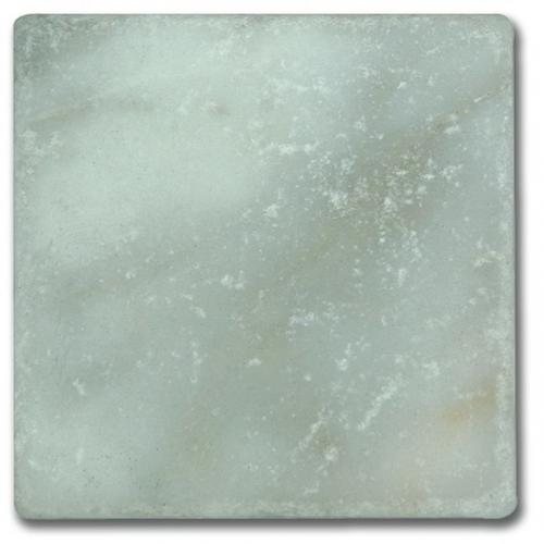 Carrelage pierre Marbre vieilli Afyon White 10x10 cm - 0.  - Echantillon - zoom