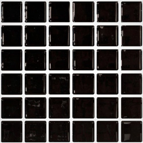 Mosaique noire 5x5 sur trame 3 x3  NEGRO A-11 -   - Echantillon ASDC
