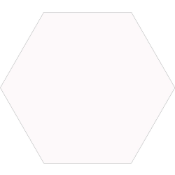 Carrelage tomette blanche 33x .5 OPAL BLANC -   - Echantillon Realonda