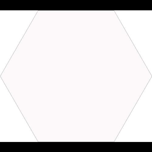 Carrelage tomette blanche 33x .5 OPAL BLANC -   - Echantillon - zoom