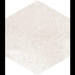 Carrelage hexagonal tomette crème vieillie 23x26.6cm RIFT Crema -   - Echantillon Vives Azulejos y Gres