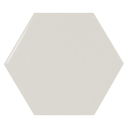 Carreau menthe brillant 12.4x1 cm SCALE HEXAGON MINT -  - Echantillon Equipe