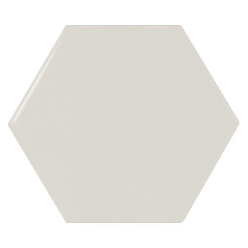 Carreau menthe brillant 12.4x1 cm SCALE HEXAGON MINT -  - Echantillon - zoom