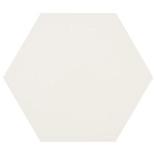 Tomette blanche MERAKI BASE BLANCO 19.8x22.8 cm -   - Echantillon Bestile