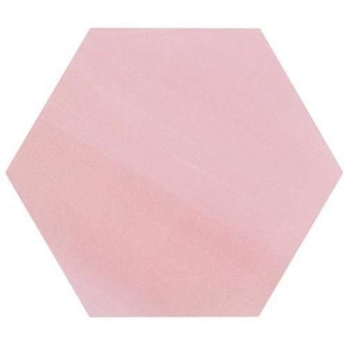 Tomette unie rose série dandelion MERAKI ROSA BASE 19.8x22.8 cm -   - Echantillon Bestile