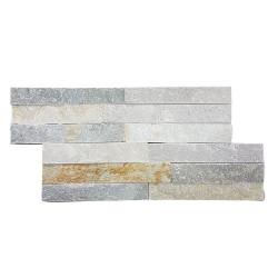 Parement extérieur pierre naturelle Quarzite 38x18 - Echantillon ASDC