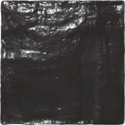 Carrelage effet zellige 10x10cm MALLORCA BLACK 23262 - 0.  - Echantillon Equipe