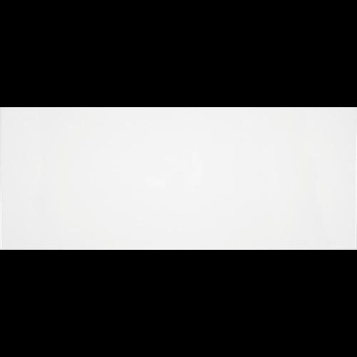 Faience unie Blanco Brillo 20x50 cm -   - Echantillon - zoom