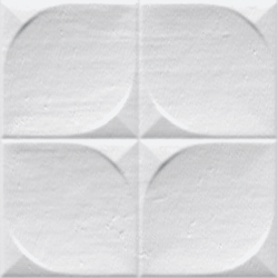 Faience murale brillante blanche SINDHI 13x13cm -   - Echantillon Vives Azulejos y Gres