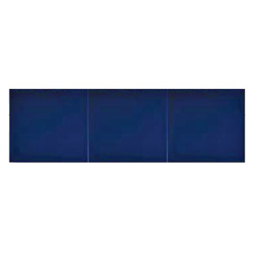 Azulejo Sevillano GRANADA carreau bleu marine 15x20 cm LISO COLLECTION ZOCALO -  - Echantillon - zoom