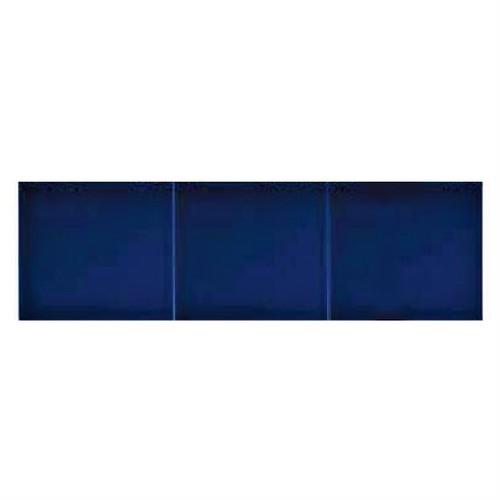 Azulejo Sevillano JEREZ carreau bleu marine 15x20 cm LISO COLLECTION ZOCALO -   - Echantillon - zoom