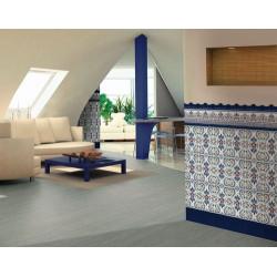 Azulejo Sevillano Moulure Baroque Bleu 5x20 - - Echantillon Ribesalbes