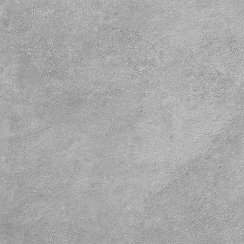 Carrelage moderne extérieur gris ciment 60x60 cm antidérapant DELTA CEMENTO R13 -   - Echantillon - zoom