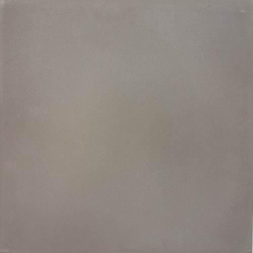 Carreau de ciment véritable Uni 20x20 cm GRIS CENDRE -   ref15-U - Echantillon - zoom
