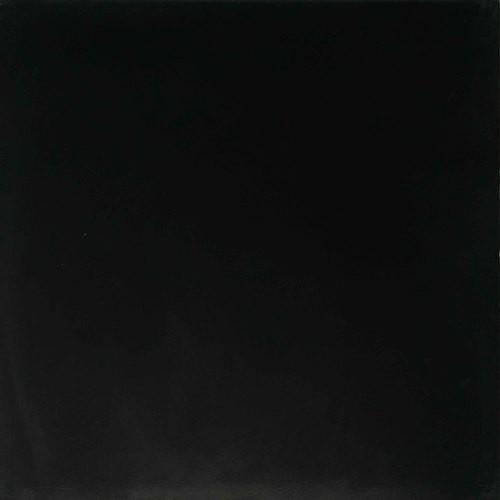 Carreau de ciment véritable Uni 20x20 cm NOIR ARDOISE -   - Echantillon - zoom