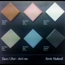 Carrelage octogonal 20x20 gris mat et cabochons CABARET GRIS HUMO -   - Echantillon Vives Azulejos y Gres