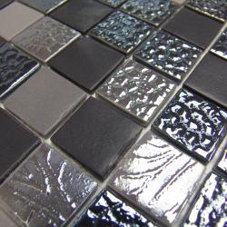 Dégradé mosaïque Markina Black 2002342 33 - Echantillon Onix