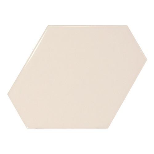 Carreau crème brillant 1 x12.4cm SCALE BENZENE CREAM - 23826 -  - Echantillon Equipe