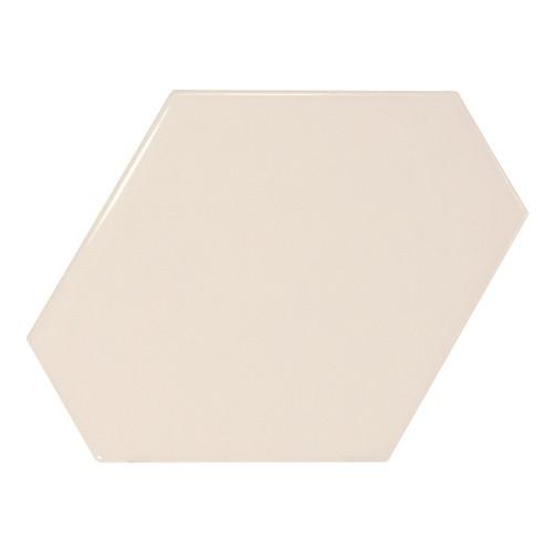 Carreau crème brillant 1 x12.4cm SCALE BENZENE CREAM - 23826 -  - Echantillon - zoom