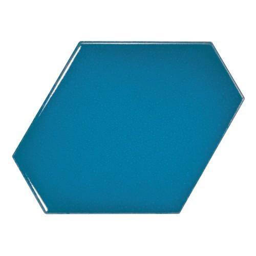 Carreau bleu électrique 1 x12.4cm SCALE BENZENE ELECTRIC BLUE - 23834 -  - Echantillon Equipe
