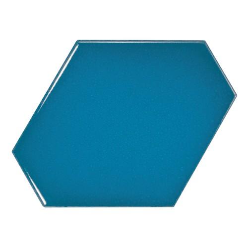 Carreau bleu électrique 1 x12.4cm SCALE BENZENE ELECTRIC BLUE - 23834 -  - Echantillon - zoom