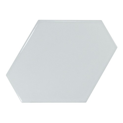 Carreau bleu ciel brillant 1 x12.4cm SCALE BENZENE SKY BLUE - 23830 -   - Echantillon Equipe
