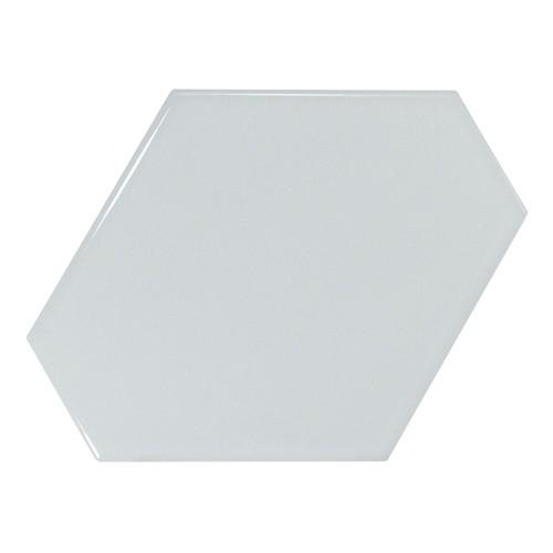 Carreau bleu ciel brillant 1 x12.4cm SCALE BENZENE SKY BLUE - 23830 -   - Echantillon - zoom