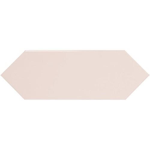 Faience navette crayon rose brillant 10x30 PICKET PINK -   - Echantillon Ribesalbes