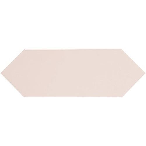 Faience navette crayon rose brillant 10x30 PICKET PINK -   - Echantillon - zoom