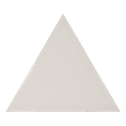 Carreau gris clair brillant 1 x12.4cm SCALE TRIANGOLO LIGHT GREY -  - Echantillon Equipe