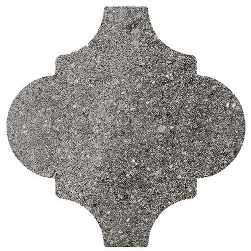 Carrelage provençal 20x20cm PROVENZAL DINDER MULTICOLOR - - Echantillon - zoom