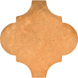 Carrelage provençal 20x20cm décor terre cuite BUXTON Natural -- Echantillon Vives Azulejos y Gres