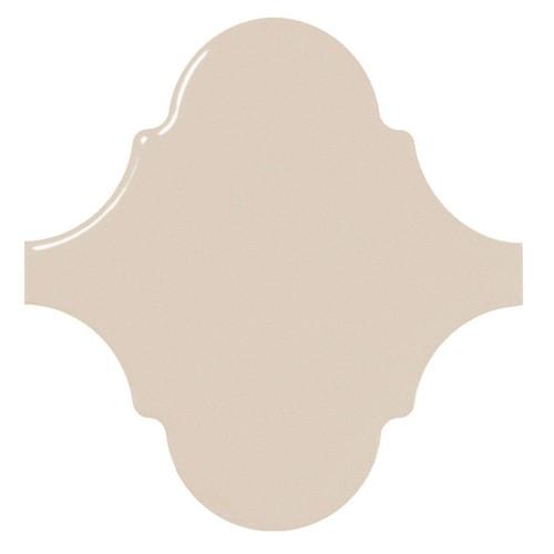 Carreau beige brillant 12x12cm SCALE ALHAMBRA GREIGE -  - Echantillon - zoom