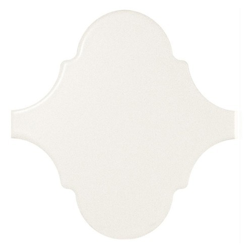 Carreau blanc mat 12x12 SCALE ALHAMBRA WHITE MATT 21933 -  - Echantillon Equipe