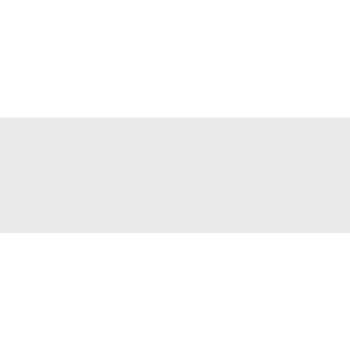 Faience unie blanche mate NITRA 33.3x100 cm - - Echantillon - zoom