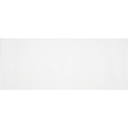 Faience unie Blanco Mat 20x50 cm -   - Echantillon Baldocer