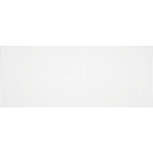 Faience unie Blanco Mat 20x50 cm -   - Echantillon - zoom
