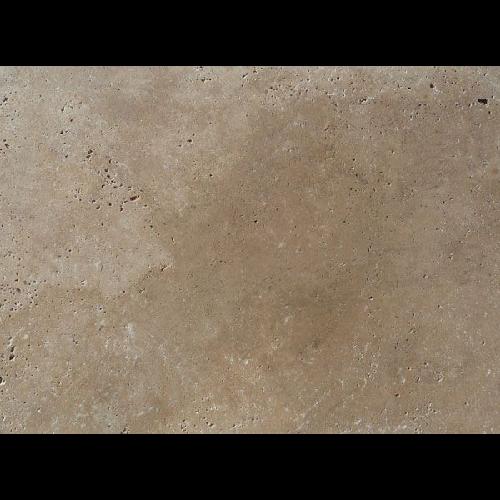 Carrelage pierre Travertin beige vieilli 40x60 cm -   - Echantillon - zoom