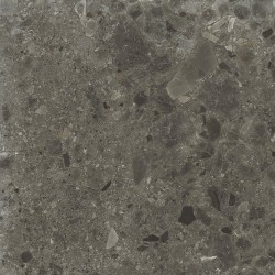 Carrelage anthracite imitation pierre rectifié 60x60cm HANNOVER BLACK R10 - 1.08m²
