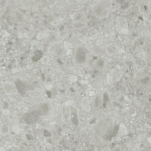 Carrelage gris imitation pierre rectifié 60x60cm HANNOVER STEEL R10 - 1.08m² Baldocer