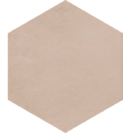 Carrelage tomette beige 22.5x26cm CONCRET HELSINKI- 0.66m² - zoom