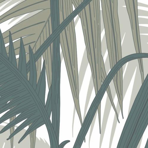 Carrelage tropical feuilles PALMIER5 BD 20x20 cm - 1.4m² - zoom