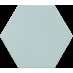 Carrelage hexagonal bleu clair KROMATIKA BLEU CLAIR R10 11.6x10.1 - 26464 - 0.43m²
