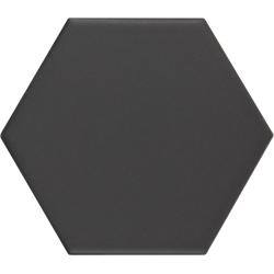 Carrelage hexagonal KROMATIKA black 11.6x10.1 - 26467 - 0.43 m²