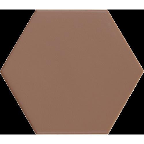 Carrelage hexagonal marron KROMATIKA CLAY R10 11.6x10.1 - 26471 - 0.43 m² Equipe