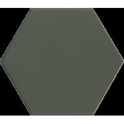 Carrelage hexagonal vert KROMATIKA GREEN R10 - 11.6x10.1 - 26466 - 0.43 m²