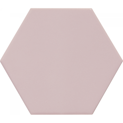 Carrelage hexagonal rose KROMATIKA ROSE R10 - 11.6x10.1cm - 26465 - 0.43 m² Equipe