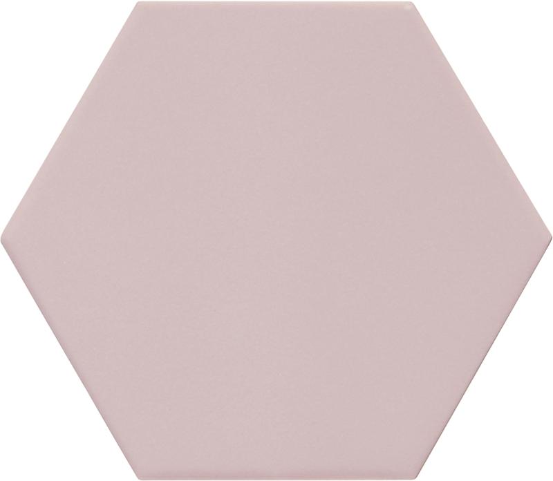 Carrelage hexagonal rose KROMATIKA ROSE R10 - 11.6x10.1cm - 26465 - 0.43 m² - zoom