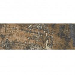 Carrelage imitation parquet style usine usé vintage bleu KUNNY 17.50x50 cm - 1.31m² Baldocer