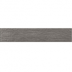 Carrelage NORDIK SMOKE imitation parquet gris vintage style chevron 7x36 cm - 1m²